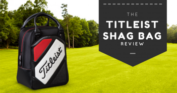 Titleist Golf Ball Shag Bag Red/Black TA7CSB