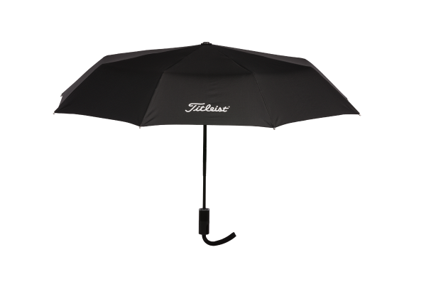 The Titleist Professional Folding Umbrella TA8PROFU-0 is a compact umbrella made with pongee fabric which is a superior quality water repellent fabric.
