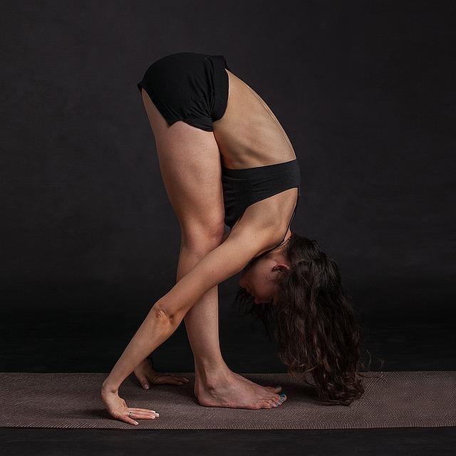 yoga stretches for golfers Forward bend