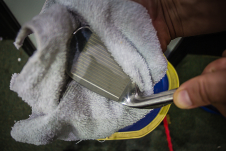 Golf Towel dry your super clean irons and woods to prevent rust