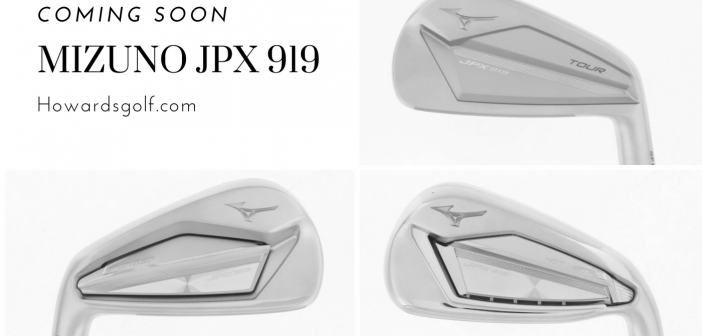 Feature image of the new Mizuno irons JPX 919 series