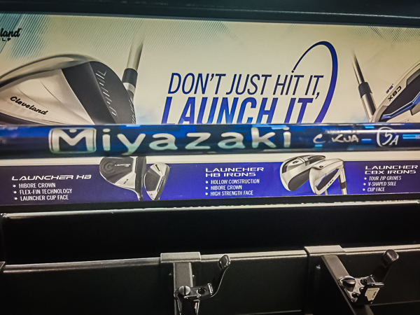 Cleveland drivers come with the stock Miyazaki C Kua shaft