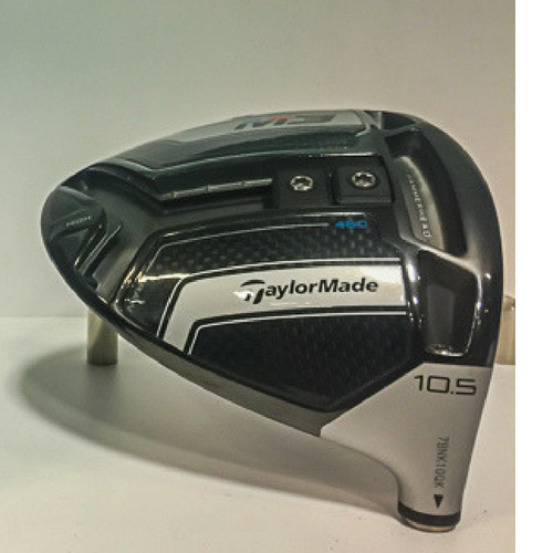 Closeup of the Y-Track on the TaylorMade Golf M3 Drive Sole