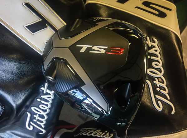 Quick Sneak Peek at the New Titleist TS2 & TS3 Line
