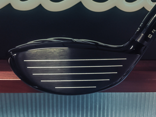 Low Profile face of the Titleist TS Fairway woods